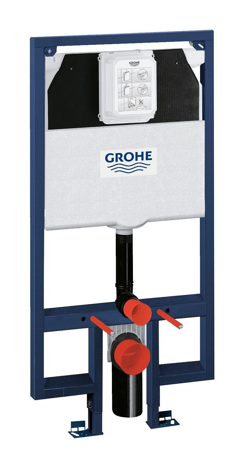 Система инсталляции для унитаза GROHE Rapid SL для узких ванных комнат (1,13 м)