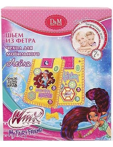 Набор для шитья чехла для телефона DOCHA#and#MAMA Winx Club Лейла (53905)