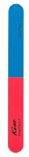 Купить Пилка для ногтей KISS 180400 грит, двухцветная, F222