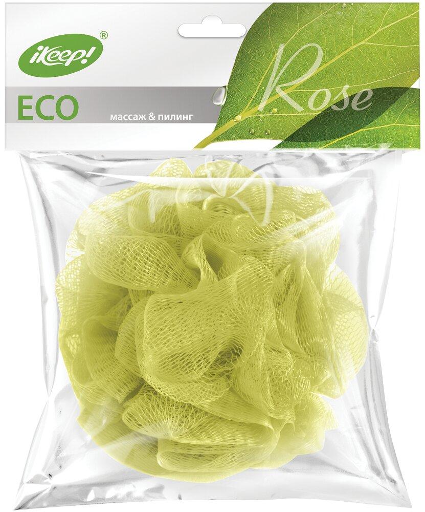 Мочалка для тела iKeep! Роза