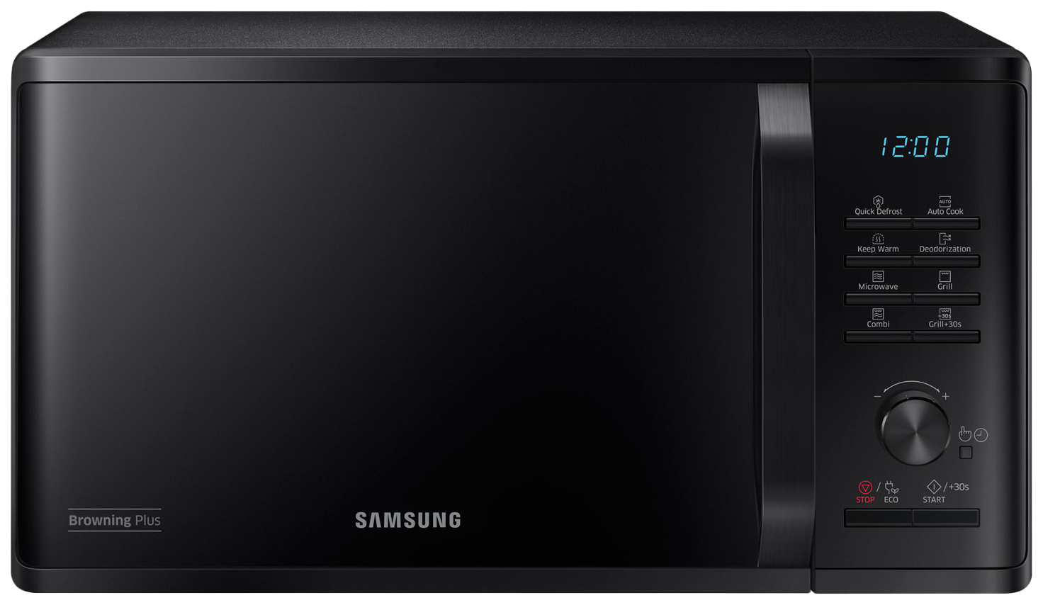 Микроволновая печь с грилем Samsung MG23K3515AK black фото