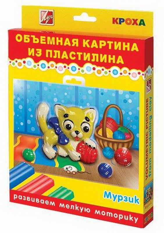 Купить Набор для лепки из пластилина ЛУЧ Мурзик, Лепка