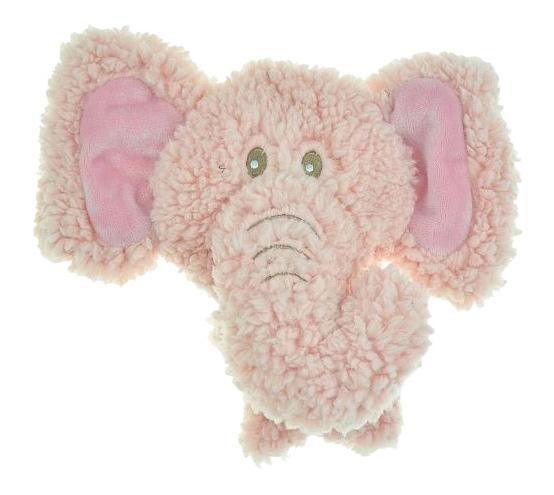 Мягкая игрушка для собак Aromadog Слон, розовый, длина 12 см фото