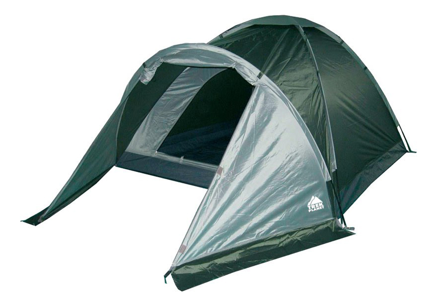 Палатка Trek Planet Toronto четырехместная зеленая