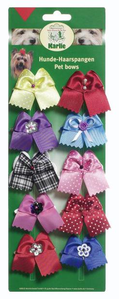 Заколки для домашнего питомца Karlie декоративная, разноцветные