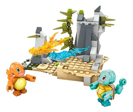 Купить Конструктор пластиковый Mega Bloks Pokemon. Squirtle vs Charmander, Конструкторы пластмассовые