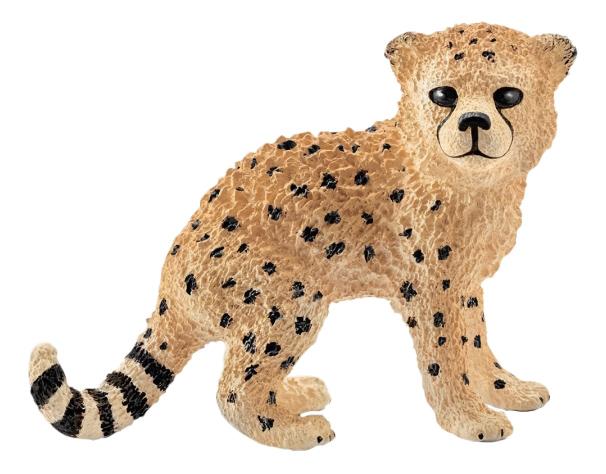 Купить Wild Life Детеныш гепарда длина, Фигурка животного Schleich Wild Life Детеныш гепарда, Игровые фигурки