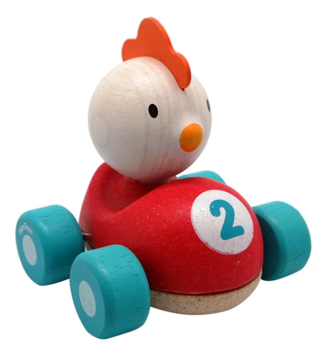 Купить Деревянная игрушка для малышей PlanToys Курочка, Развивающие игрушки