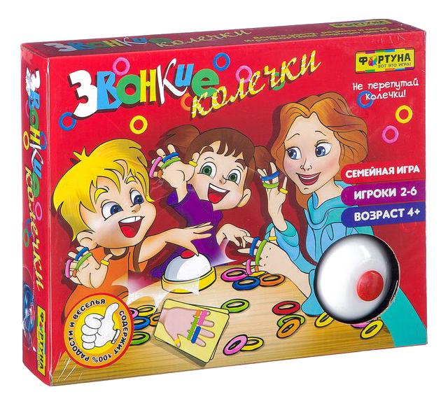Купить Настольная игра Фортуна Звонкие колечки, Семейные настольные игры