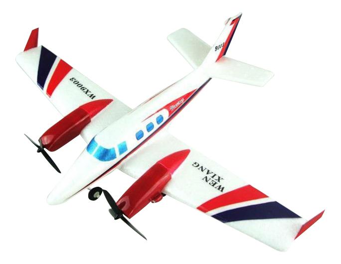 Купить Самолёт р/у истребитель на аккум свет белый М32299, Самолёт р/у Истребитель на аккум. белый Gratwest М32299, Радиоуправляемые самолеты