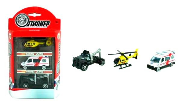 Купить Машина спецслужбы Shantou Gepai набор машин экстренная служба спасения, металл m7209-1, Наборы игрушечного транспорта