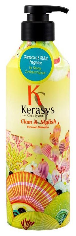 Купить Шампунь KeraSys Гламур для волос 600 мл