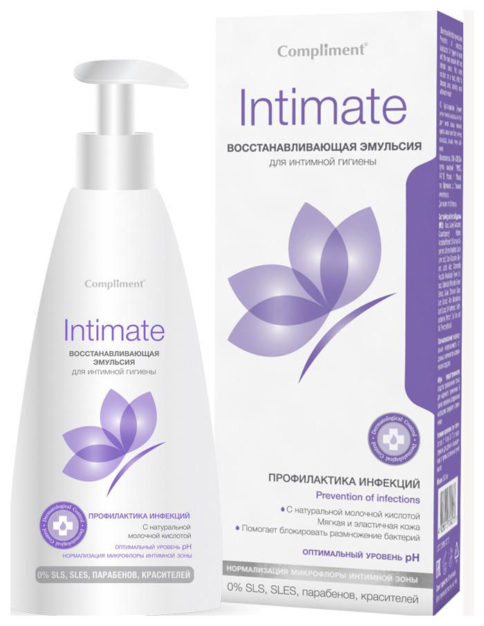 Средство для интимной гигиены Compliment Intimate Восстанавливающее
