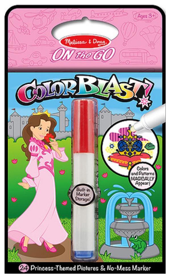 Раскраска Melissa and Doug Прояви цвета Принцессы