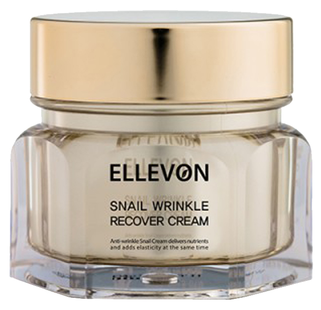 Крем для лица Ellevon Snail Wrinkle Recover
