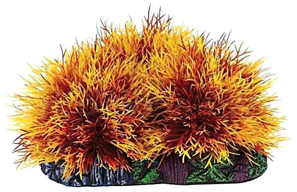 Растение аквариумное Triol Laguna 547032 17х7х8 см Желтый