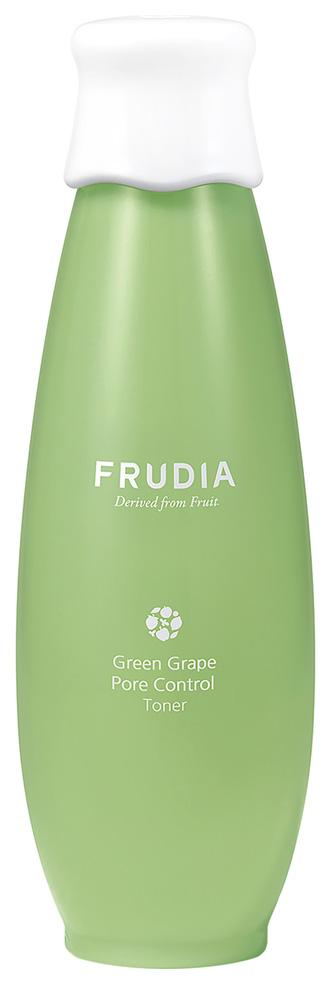 Купить Тонер для лица Frudia Green Grape Pore Control Toner 195 мл, Себорегулирующий тоник с зеленым виноградом