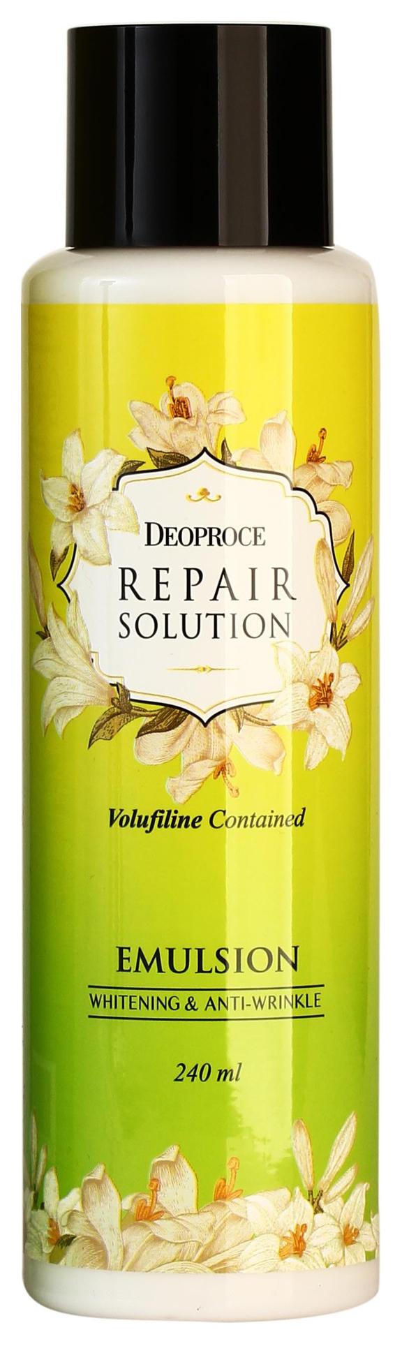 Тонер для лица Deoproce Repair Solution Toner С волюфилином 240 мл фото