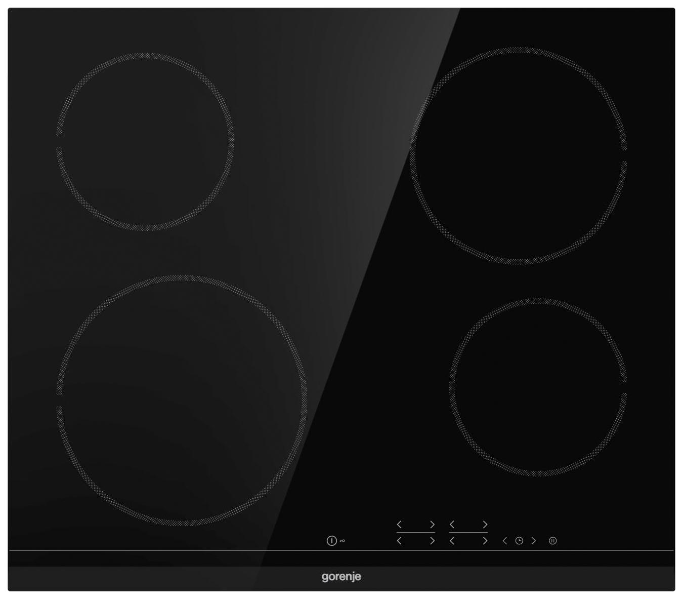 Встраиваемая варочная панель электрическая Gorenje ECT641BCSC Black
