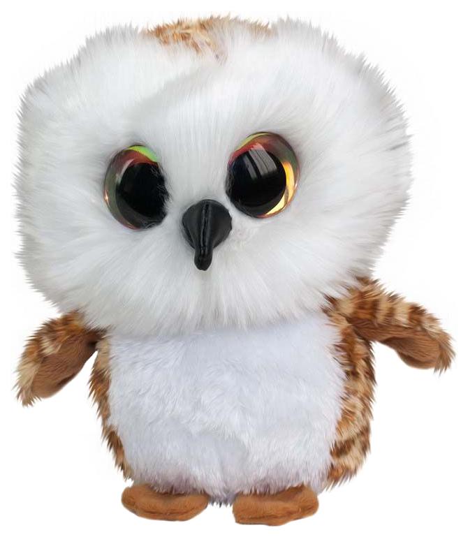 Купить Мягкая игрушка Tactic Сова Uggla, коричневая, 15 см, Мягкие игрушки птицы