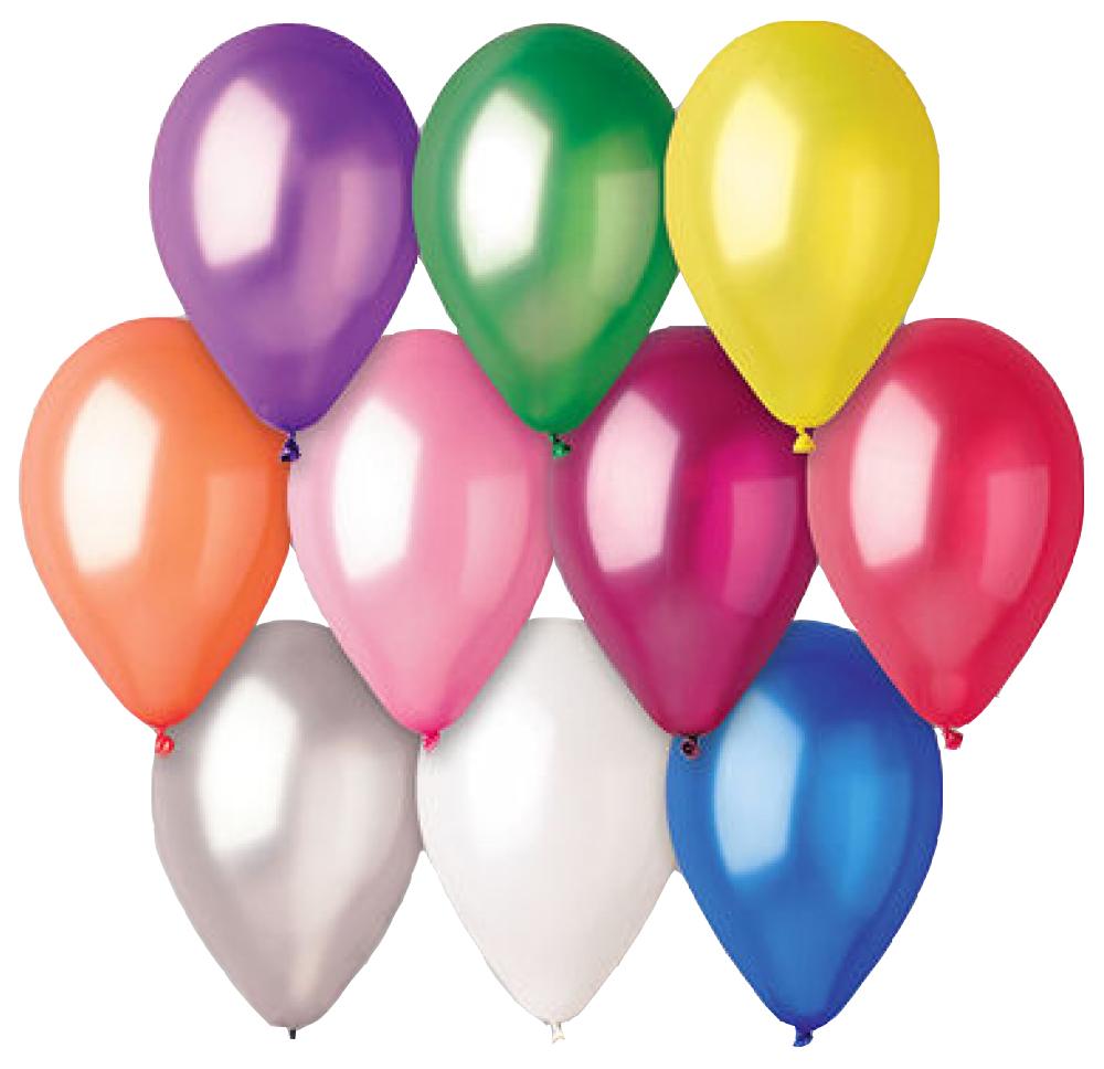 Воздушные шары Belbal Экстра Металлик 50 шт. фото