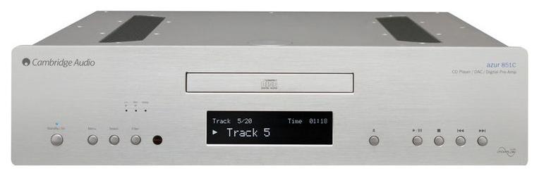 CD проигрыватель Cambridge Azur 851C Silver