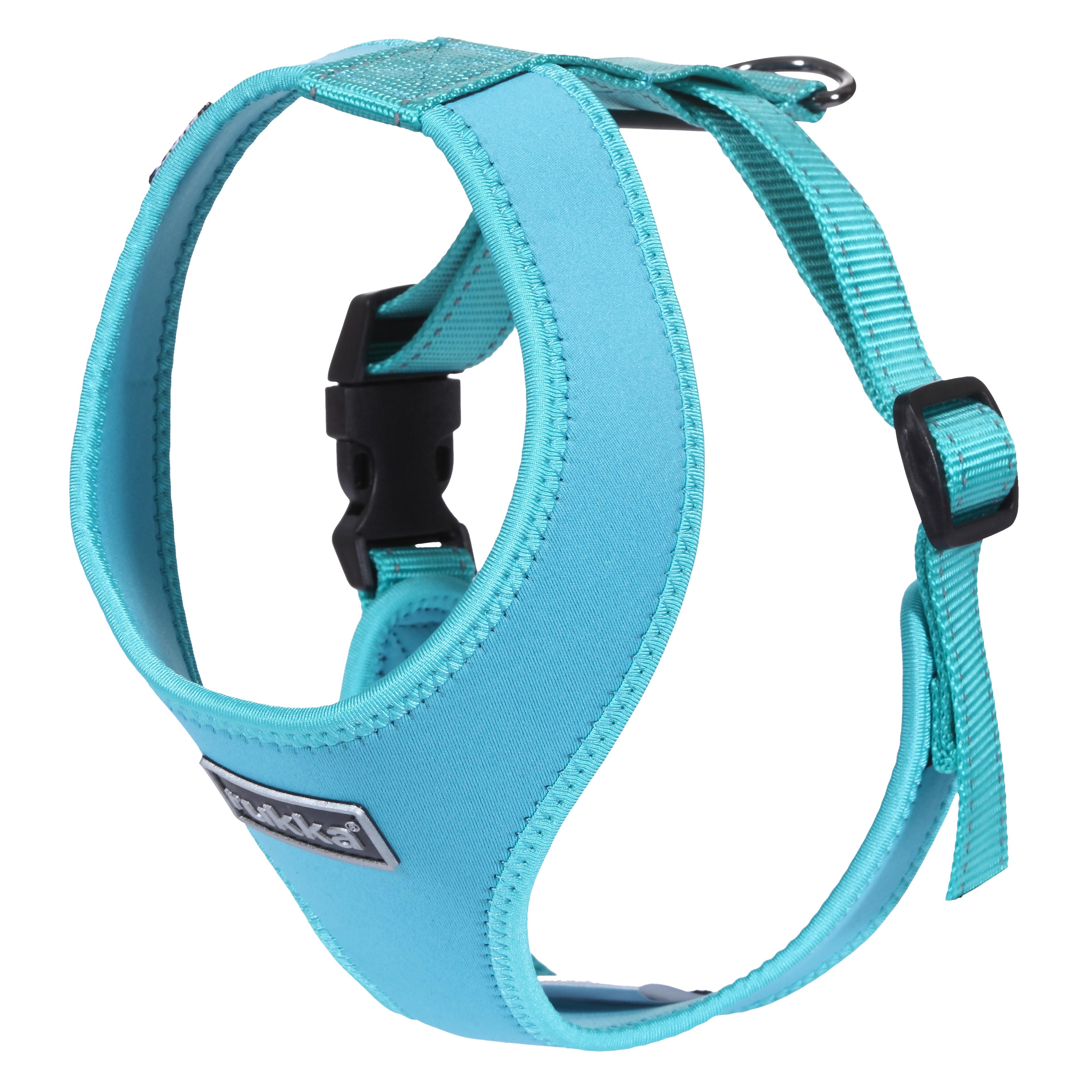 Шлейка для собак RUKKA Mini comfort, голубвя, 22-32см х 20см фото