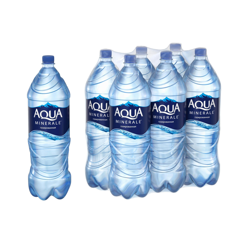 Вода Aqua Minerale негазированная питьевая 2 л упаковка 6 шт фото