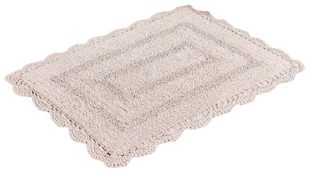 Коврик для ванной Modalin Evora Цвет: Пудра