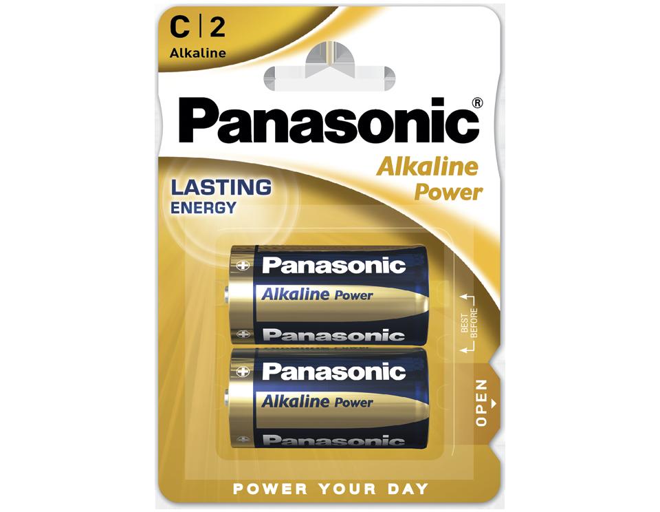 Батарейка Panasonic Alkaline Power LR14REB/2BP 2 шт