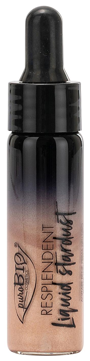 Хайлайтер PuroBio Resplendent Liquid Stardent 02 розовое