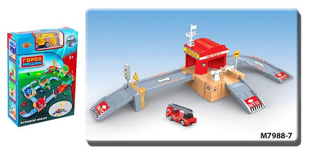 Купить Паркинг Пожарная станция , 36 деталей Shantou, Shantou Gepai, Спецслужбы