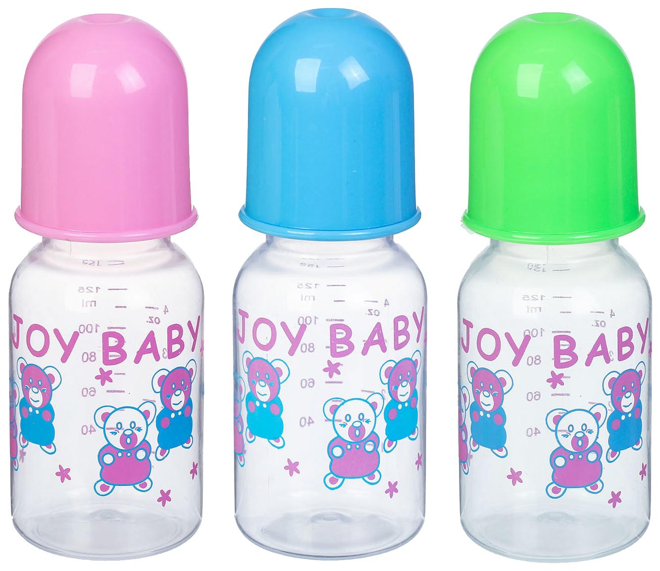 Купить Набор детских бутылочек Крошка Я 2825330 125 мл, Бутылочки для кормления