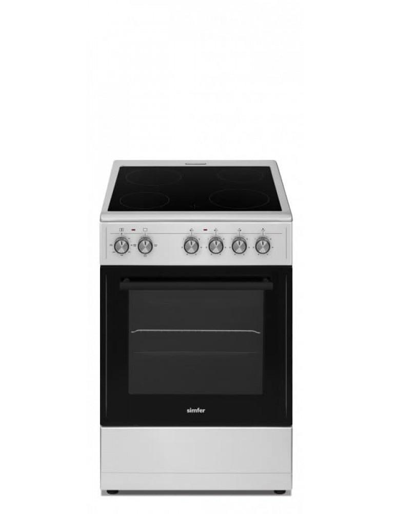 Электрическая плита Simfer HF55VS04013 Grey