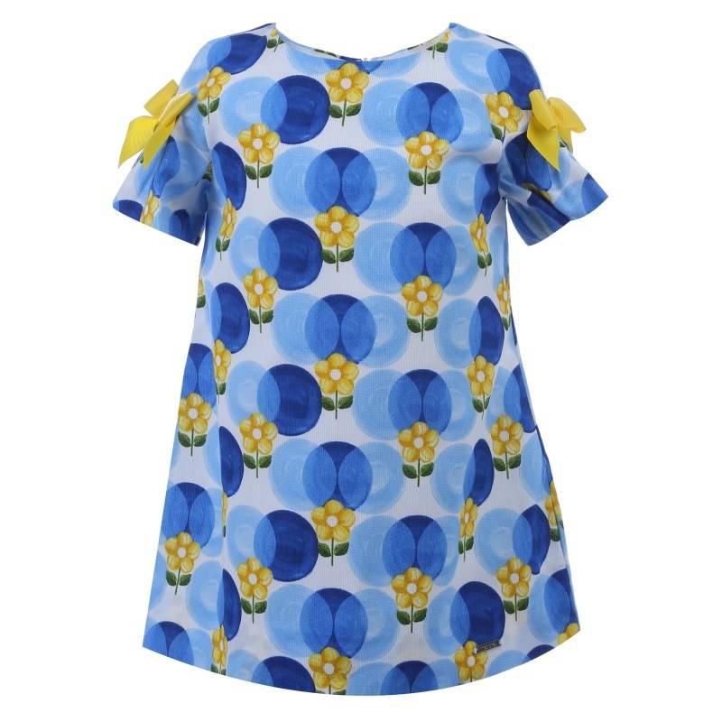 Купить Платье MAYORAL, цв. синий, 98 р-р, Детские платья и сарафаны