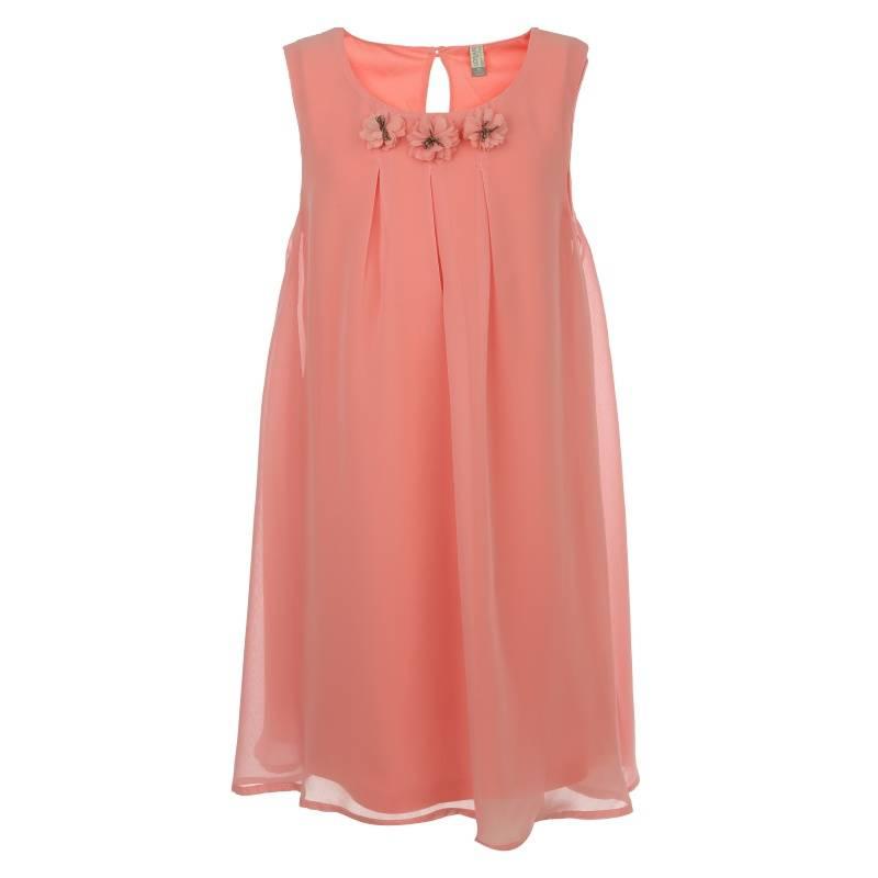 Купить Платье Losan, цв. коралловый, 128 р-р, Детские платья и сарафаны