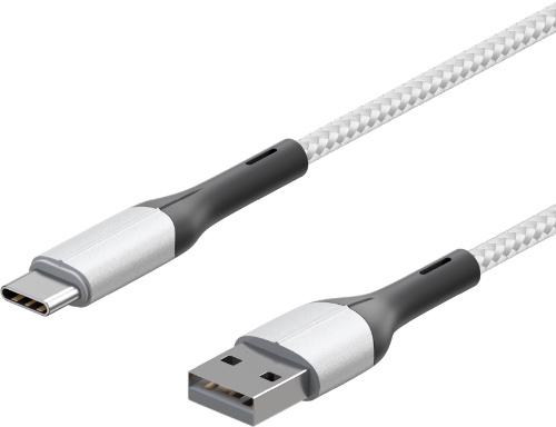 Кабель InterStep USB2.0 0,2м, White (IS