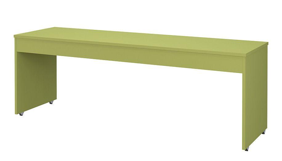Купить Стол письменный большой Polini kids City Urban, 200x60 см, зеленый, Детские столики