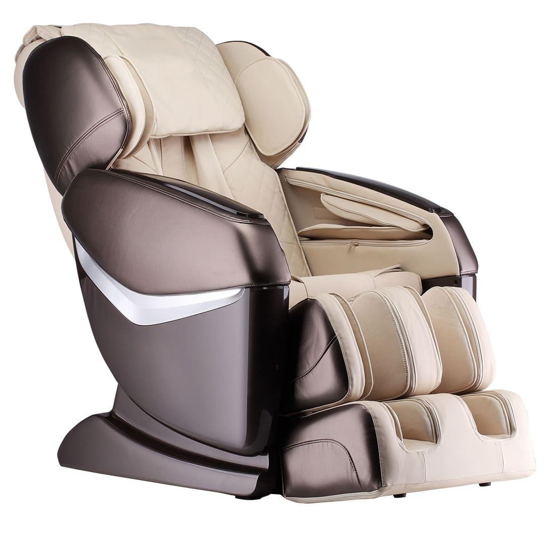 Массажное кресло GESS Desire бежевое-коричневое GESS-825 kombo фото