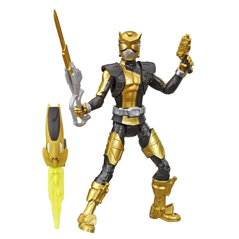 Фигурка Hasbro Power Rangers Золотой Рейнджер с боевым ключом фото