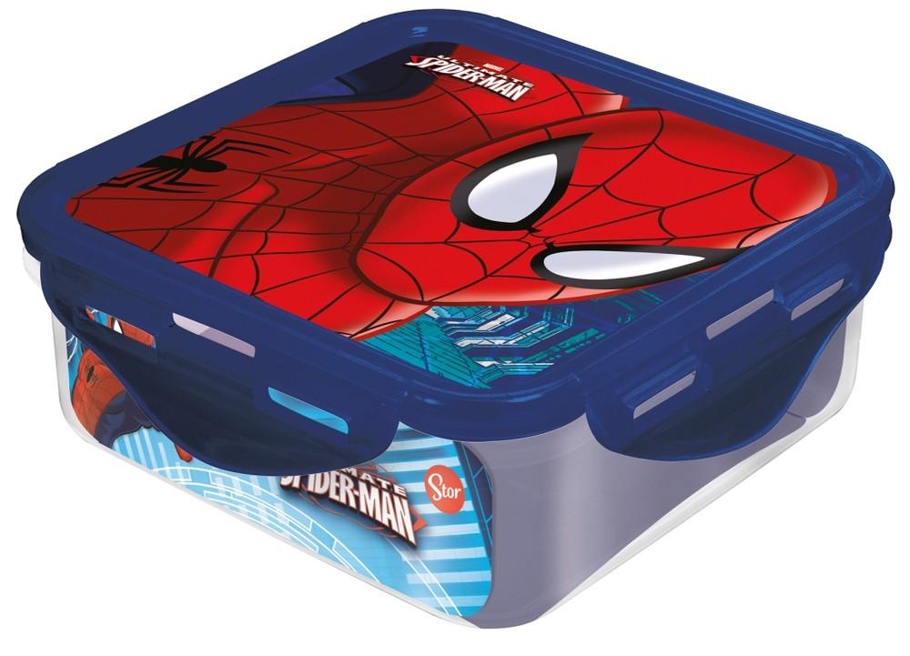 Контейнер пластиковый Stor 500 мл. Человек-паук Красная паутина, 33459 фото