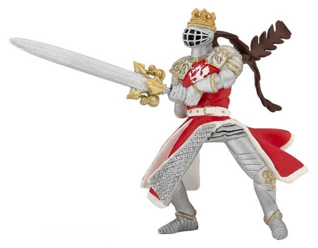 Купить Игровая фигурка Король-Дракон с мечом , PAPO, Игровые наборы