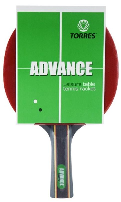 Ракетка для настольного тенниса Torres Advance, Любительский TT0004