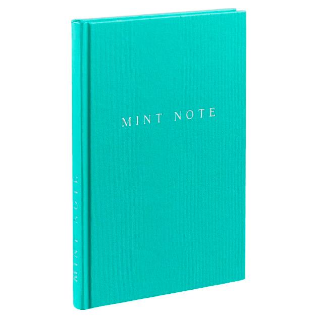 Mint Note, Стильный Блокнот С Мятными Страницами фото