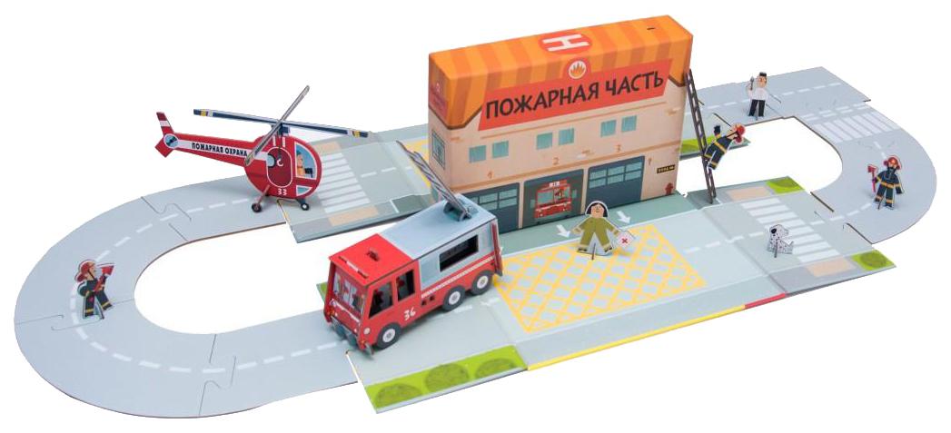 Набор Мозаика-синтез 11486 маленький инженер пожарная часть