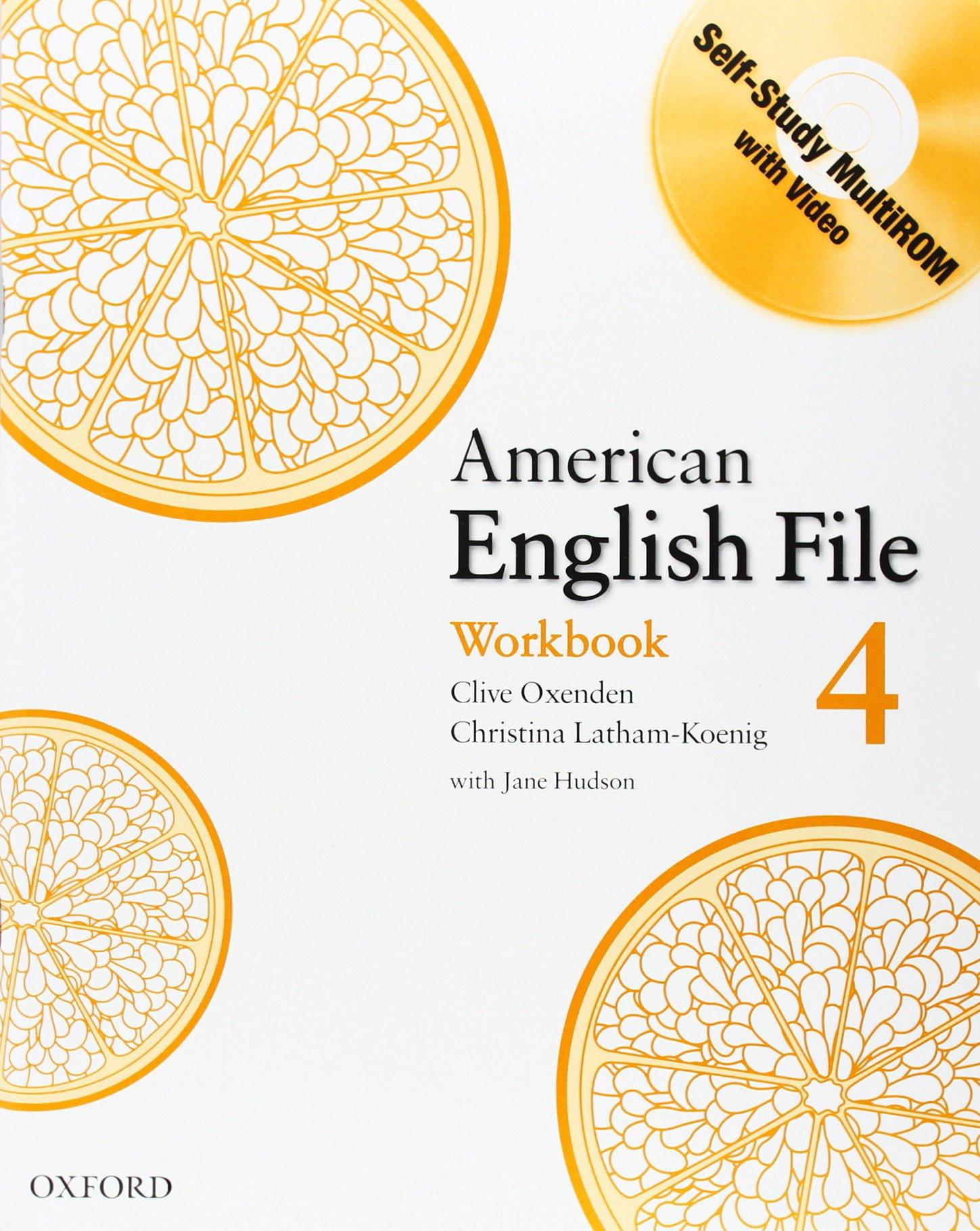 American English File 4 Workbook (+ CD-ROM)