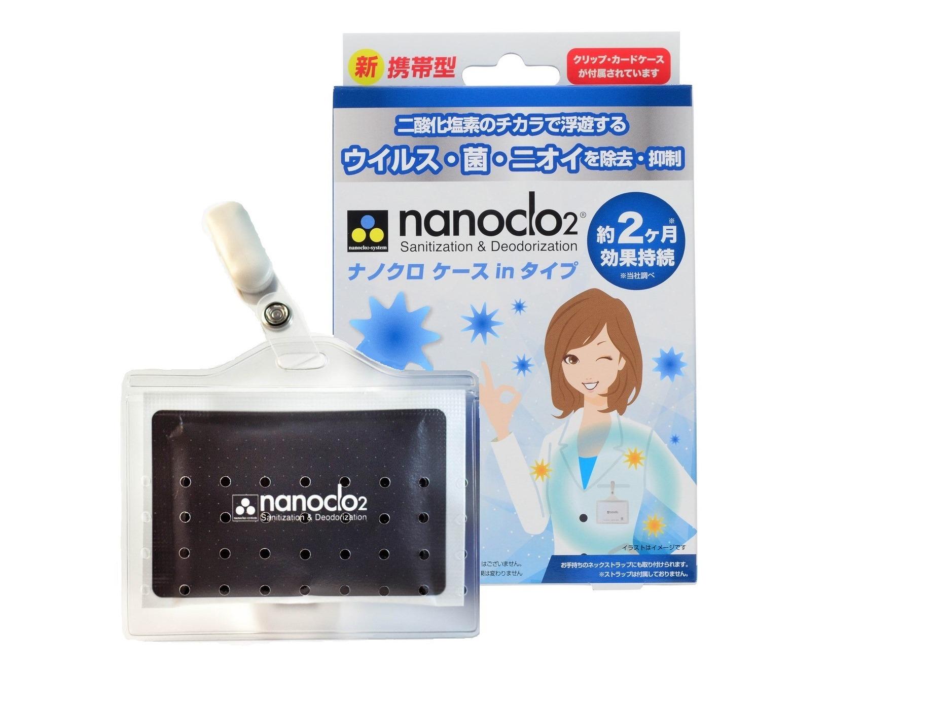 Блокатор вирусов NANOCLO2 для индивидуальной защиты (срок