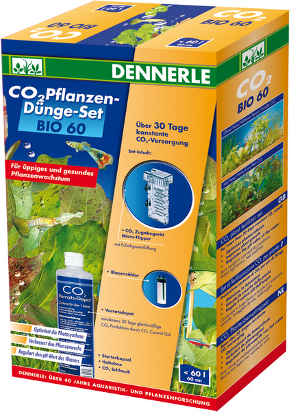 Dennerle Установка для подачи СО2 Dennerle BIO 60 CO2 Profi KomplettSet фото
