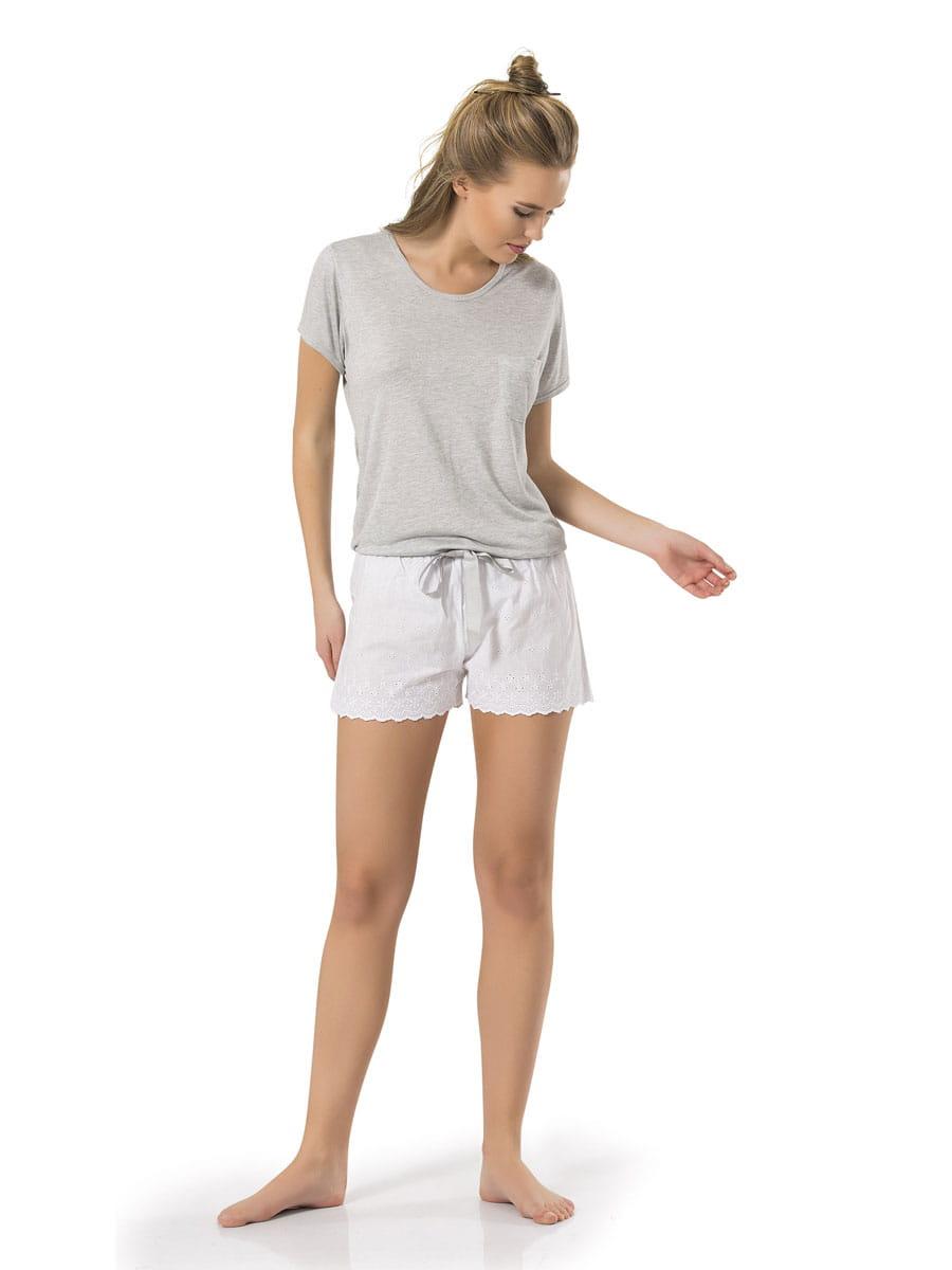 Пижама женская Turen 3253 серая M 3253 по цене 3 180