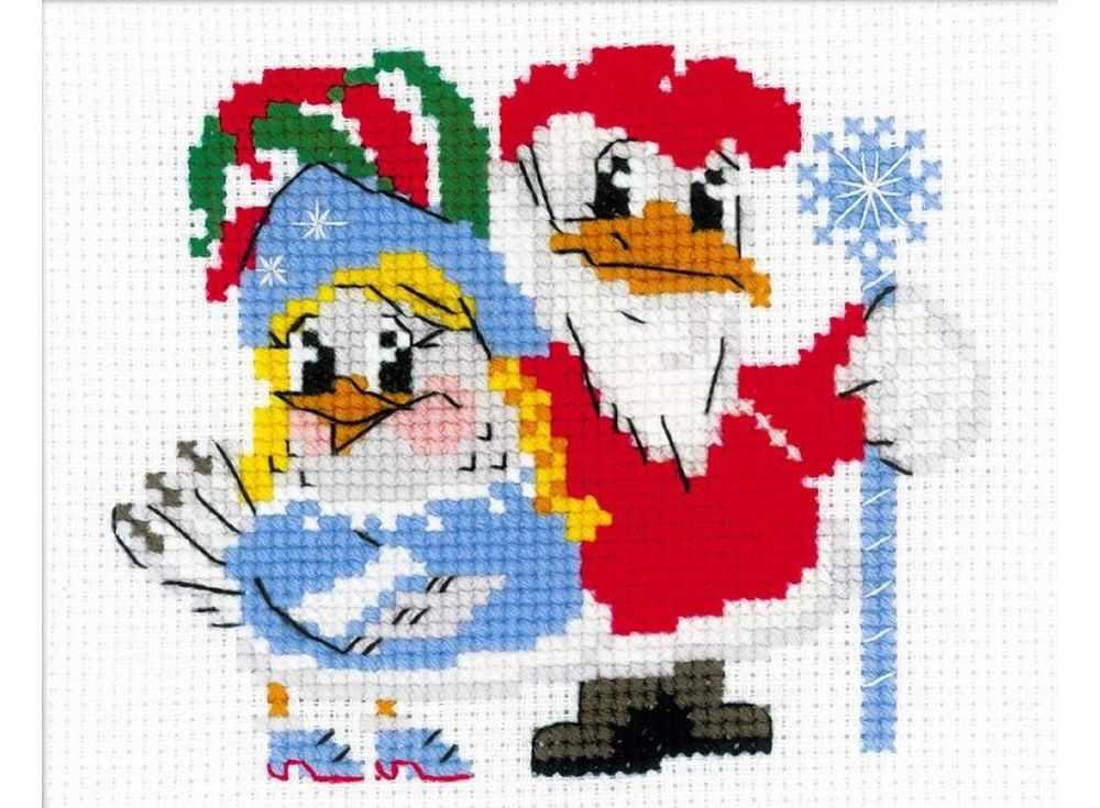Набор для вышивания РИОЛИС Новогодний маскарад, арт.137292 фото